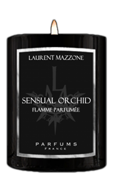 Perfumed Candles 300G : Sensual Orchid - Laurent Mazzone Parfums
