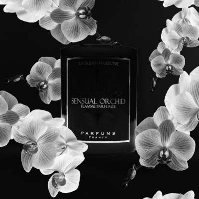 Perfumed Candles : Sensual Orchid - Laurent Mazzone Parfums