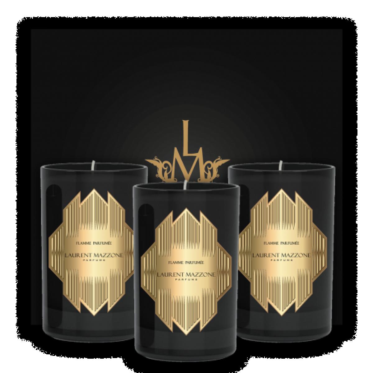 COFFRET FLAMME PARFUMÉE - LM Parfums