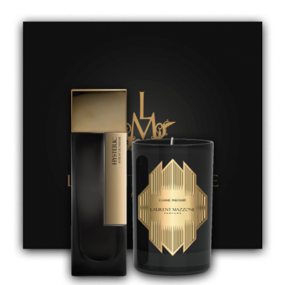 Gold Scent Box : Scent Box Hysteric - Laurent Mazzone Parfums