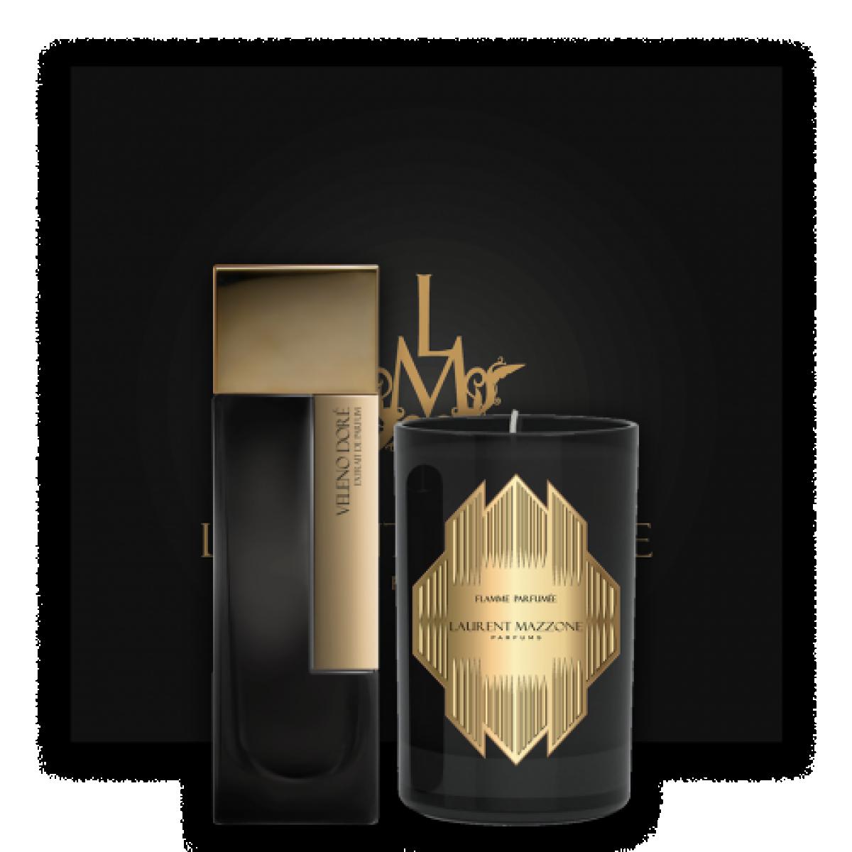 COFFRET VELENO DORÉ - LM Parfums