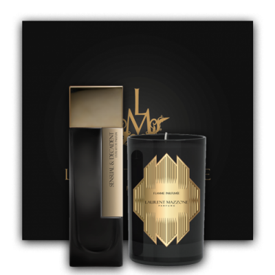 Gold Scent Box : Scent Box Sensual & Decadent - Laurent Mazzone Parfums